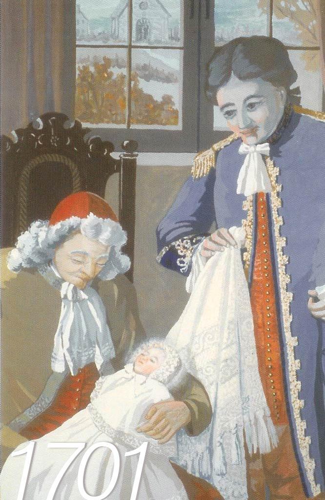 1701 Naissance de Marguerite d'Youville