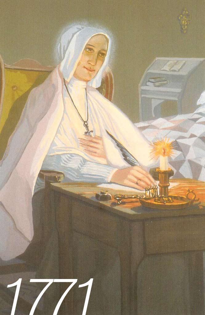 Paralysie de Marguerite d'Youville