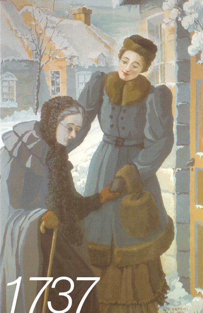 Marguerite d'Youville - Sa dévotion pour les pauvres