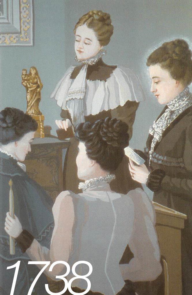 Madame d'Youville à la Maison Le verrier